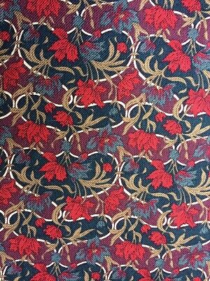 Vintage Liberty Print Viyella/Clydella Type Fabric 4.5m Long X 94cms Wide • 8.50£