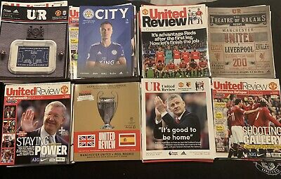 118 Manchester United Football Programmes • 4.99£
