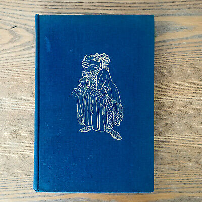 1940. The Wind In The Willows, Kenneth Grahame, Illustrated Arthur Rackman • 100£
