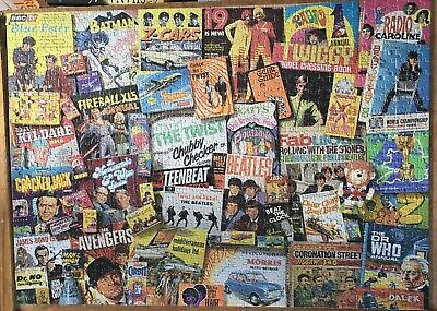 Gibsons 1000 Piece Puzzle Spirit Of The 60's  • 5.99£