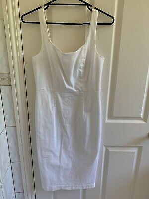 AU18 • Buy Country Road Linen Dress Size 10