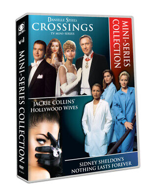 Hollywood Wives Danielle Steel's Crossings Sidney Sheldon's DVD Box Set Series U • 31.48£