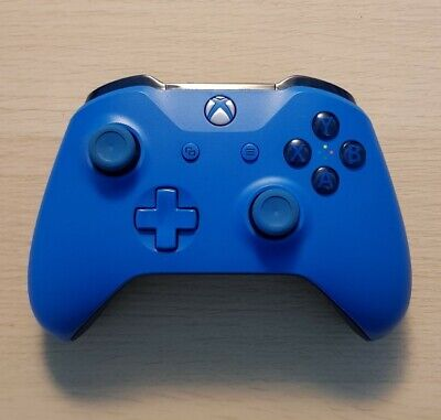 AU74.99 • Buy Microsoft Xbox One Controller - Blue Limited Edition - Free Postage - Aus Seller