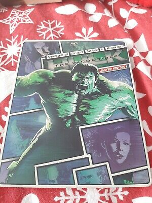 The Incredible Hulk Limited Edition Steelbook Rare • 22£