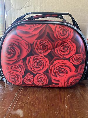 AU45 • Buy Designer CATHERINE MANUELL Signature ROSES Piece Handbag/Beauty Bag/Travel Bag