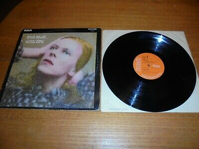 David Bowie Hunky Dory Vinyl Lp Record • 14.99£