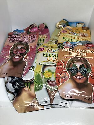 Selection Of Montagne Jeunesse And 7th Heaven Face & Hair Masks  • 0.99£