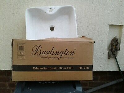 £40 • Buy Wash Hand Basin White Unused From Renovation 460x370x10 Cm Approx