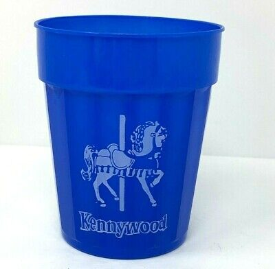 $19.95 • Buy Kennywood Amusement Park Vintage Merry-Go-Round Horse Drinking Cup Pittsburgh PA