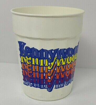$19.95 • Buy Kennywood Park Vintage Roller Coaster Capital Of The World Cup Pittsburgh PA Vtg