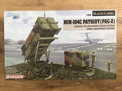 MIM-104C PATRIOT SURFACE TO AIR MISSILE Model Military Kit Dragon 1:35 3604 • 89.99£