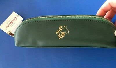 Cath Kidston Stanley Dog Pencil Case/Brushes Case~ Gold Embossed -BNWT • 14.50£