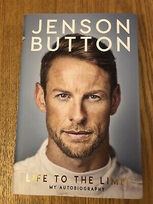 Jenson Button Signed Life To The Limit Autobiography Book New • 45£