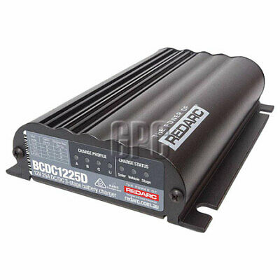 AU472 • Buy Pick Up Only REDARC 25A 12V DC Dual Battery Vehicle Charger BCDC1225D Charging