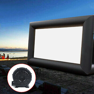 AU293.01 • Buy Outdoor And Indoor Inflatable Movie Projector Screen With Blower, 3*5m 220V NEW
