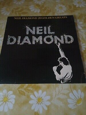 Neil Diamond - 20 Golden Greats - Vinyl Record LP Album  ORIGINAL • 0.99£