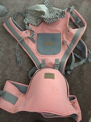 Baby Carrier - Pink Can Be Used As A Hip Seat Too Vgc • 8.30£