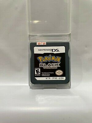 AU38.95 • Buy Pokemon Black Version - Nintendo DS, 2DS, 3DS Cartridge & Case