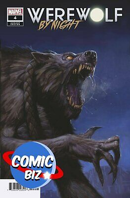 Werewolf By Night #4 (2021) 1st Print Bagged & Boarded Gist Variant Cover • 3.65£