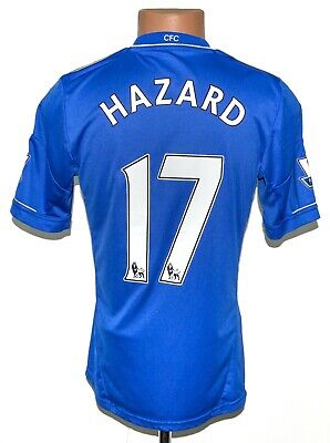Chelsea London 2012/2013 Home Football Shirt Jersey #17 Hazard Adidas Size S • 74.99£