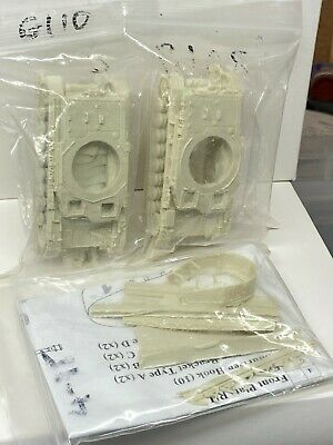 Milicast 1/76 German Panzer IV Resin Kits X 2 + Shurtzen & Commander Figure • 5£