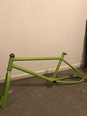 Old School Bmx Frame And Forks 82 Loop Tail Mongoose , Pk Ripper ,hutch,Raleigh • 80£