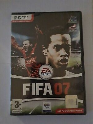 FIFA 07 2007 Pc DVD Rom Football NEW & SEALED  • 0.99£