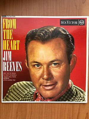 AU9 • Buy Jim Reeves 4 Song, 7 In. Vinyl 'From The Heart' Excellent Condition -