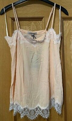 BNWT Limited Edition M&S Collection Blush Lace Camisole Size 8 • 3.95£