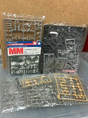 Tamiya & Dragon 1/35 WW2 German Figures Lot, Sturmpioneers Etc • 5£
