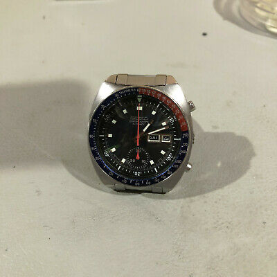 $ CDN820 • Buy Seiko Chronograph 6139-6002 Automatic Pepsi