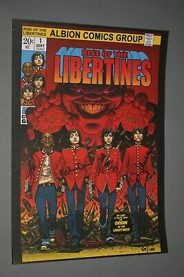 Libertines, Hand Signiertes - Poster    Rise Of The Libertines    • 252.77£
