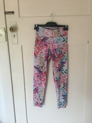 AU19.95 • Buy Dharma Bums White Floral Tights Sz Small