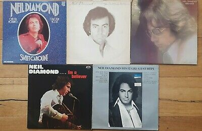 Job Lot Of 5 X Neil Diamond  Vinyl Lps All Listed And Graded • 5£