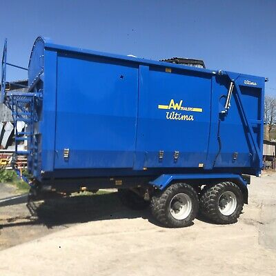 £15750 • Buy AW 12 Ton Trailer Silage/wood Chip