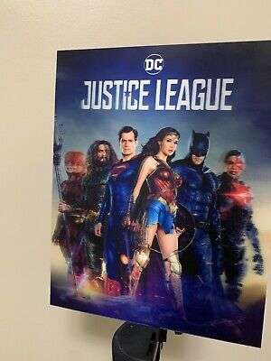 AU23.60 • Buy JUSTICE LEAGUE 3D Lenticular POSTER WITHOUT FRAME