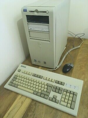 Dell OptiPlex GX1 Pentium II 400Mhz, 768Mb 20Gb HD, 48x CD Rom, Keyboard & Mouse • 50£