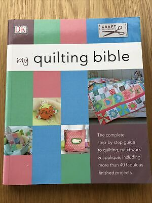 DK My Quilting Bible Book With Templates In The Back Of The Book Bargain! • 5£