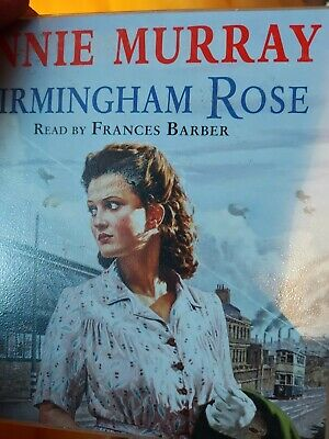 Birmingham Rose By Annie Murray - 3 Disc Audio Book CD Read By Francis Barber • 5.99£