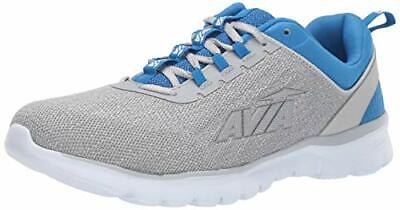 Avia Men's Avi-Factor Sneaker, Alloy/Skydiver/Silver/Bright White, Size 8.5 • 38.99£
