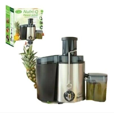 Nutri-Q Power Juicer Amazing For FRESH FRUIT And VEGETABLE JUICE • 39.99£