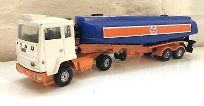 Corgi Major Model - 1160 Ford Gulf Tanker Truck Diecast Model 1970s • 1.99£
