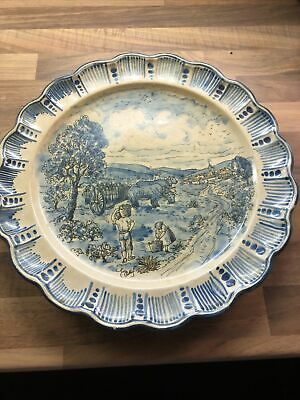 Vintage Spanish Plate Art Hand Painted Wall Plate  • 4£