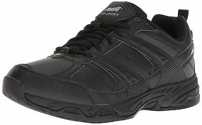 AVIA Mens Union Ll Leather Low Top Lace Up Running, Black/Castle Rock, Size 9.0 • 28.99£