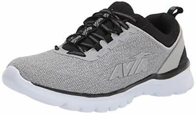 Avia Men's Avi-Factor Running Shoe, Alloy/Black/Silver, Size 10.5 OKdX US • 44.99£