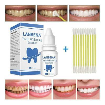 Teeth Whitening Essence Plaque Remover Oral Hygiene Clean Dental Tools KS • 5.12£