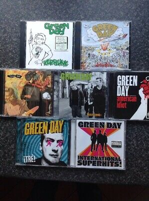 Bargain Green Day 7 X CD's Near Mint Condition • 14.99£
