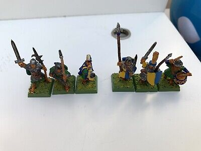 Warhammer BRETONNIAN Men At Arms Command Spears/Halberds Citadel WFB EMPIRE OOP • 39.99£