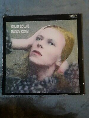 David Bowie Hunky Dory Vinyl RCA INTS 5064 Green Label • 15£