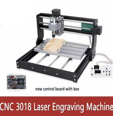 Laser Engraving Machine 10w/15w CNC Milling 3 Axis GRBL Control DIY Wood Router • 223.96£
